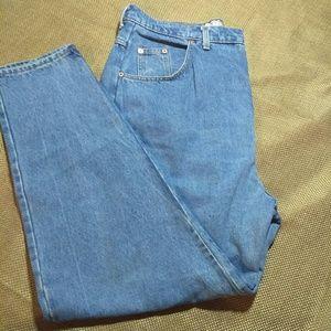 Vintage Jeans - VTG High Waist Tapered Jeans 38 waist